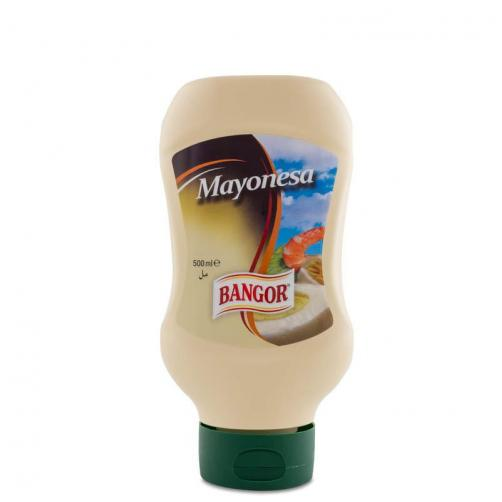 Mayonesa botella bocabajo 500 ml